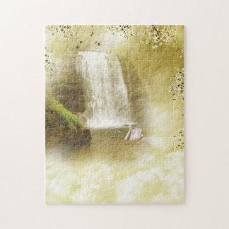楽園の滝のパズル ジグソーパズル