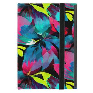 楽園の熱帯ネオンしぶき iPad MINI ケース