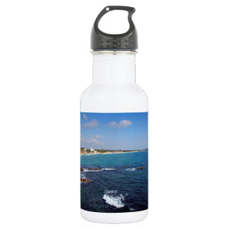 楽園の熱帯ビーチスリランカ ウォーターボトル