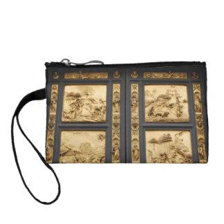 楽園の硬貨の財布のドア コインパース