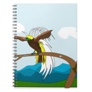 楽園の鳥 ノートブック