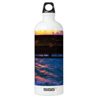 楽園湾の日没 ウォーターボトル