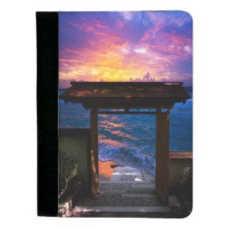 楽園湾の日没 パッドフォリオ