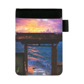 楽園湾の日没 ミニパッドフォリオ