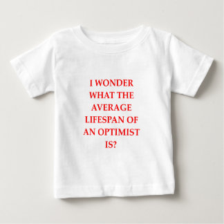 楽天家 ベビーTシャツ
