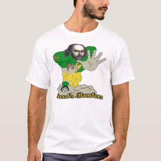 楽師の爆撃機のファンタジーのフットボールのチャンピオン Tシャツ