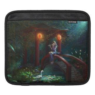 楽師のiPadの横の袖 iPadスリーブ