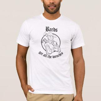 楽師は若い女全員を得ます Tシャツ