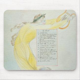 「楽師」は、「トマスGrの詩からの52を設計します マウスパッド