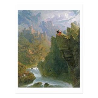 楽師、c.1817 (キャンバスの油) ポストカード