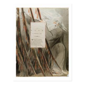 楽師: 「Thomaの詩からのPindaricオード、 ポストカード