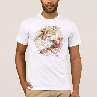 楽観的な中国語フェニックス Tシャツ