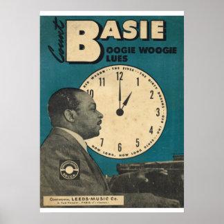 楽譜の計算のBasieカバー ポスター
