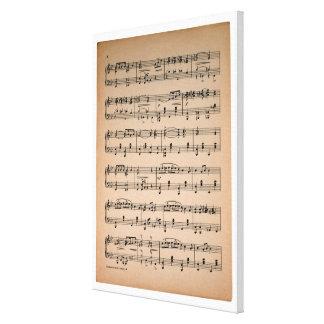 楽譜7 キャンバスプリント