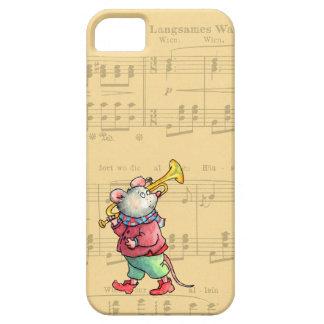 楽譜-場合nateのiPhone 5のトランペットのマウス iPhone SE/5/5s ケース
