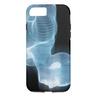 概念としてフィットネスの技術科学のライフスタイル iPhone 8/7ケース