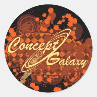概念の銀河系 ラウンドシール