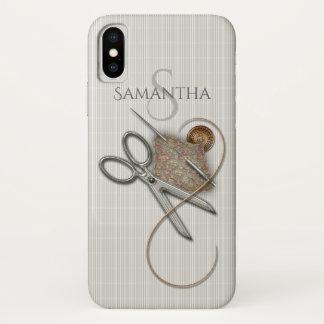 概念を縫うかわいいヴィンテージ iPhone X ケース