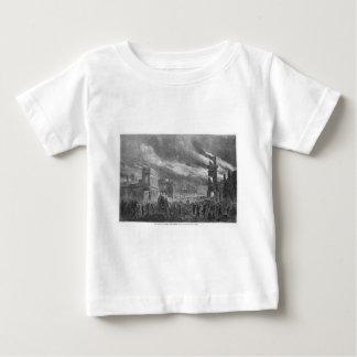 概要によるシャーマンコロンビアの焼却 ベビーTシャツ