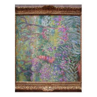 概要Giverny (1900年)の芸術家の庭、油 ポストカード