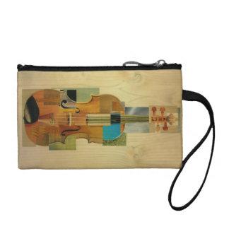 構成されたバイオリン コインパース