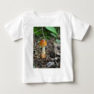 構成されたフィラメントのきのこの美しい ベビーTシャツ