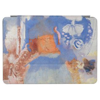 構成、c.1900 (キャンバスの油) iPad air カバー