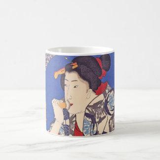 構造のブラシのギフトのマグとの美しい コーヒーマグカップ