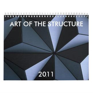 構造の芸術、2011年 カレンダー