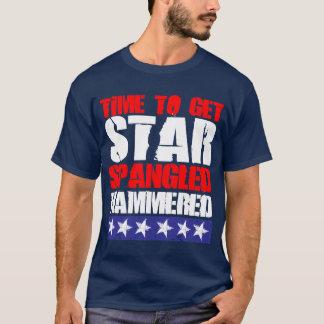 槌で打たれる星をちりばめられる得る時間 Tシャツ