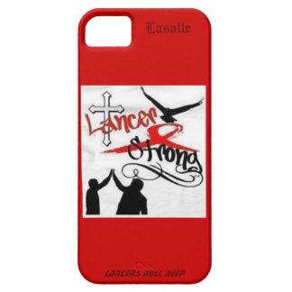 槍騎兵の強いLasalle IPhoneの例 iPhone SE/5/5s ケース