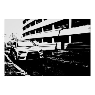 槍騎兵EVO X ポスター