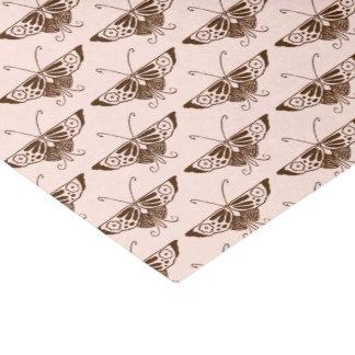 様式化されたアールデコの蝶-チョコレートおよびモモ 薄葉紙