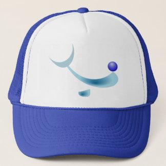 様式化されたイルカの帽子 キャップ