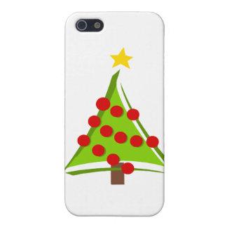 様式化されたクリスマスツリー iPhone 5 カバー