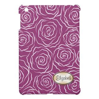 様式化されたバラパターンiPad Miniケース-果実 iPad Mini Case