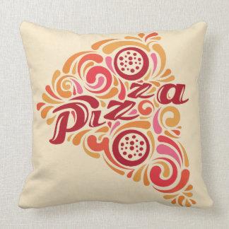 様式化されたピザ装飾用クッション クッション