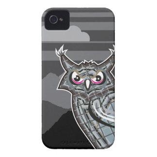 様式化されたフクロウの暗闇夜 Case-Mate iPhone 4 ケース