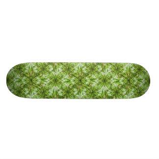 様式化された自然パターンデザイン スケートボード