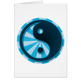様式化された陰陽 カード