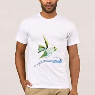 様式化されたAngelfish Tシャツ