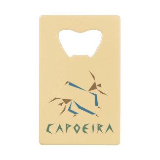 様式化されたCapoeira クレジットカード 栓抜き