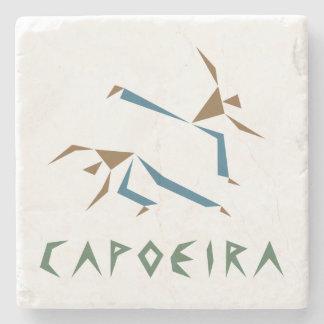 様式化されたCapoeira ストーンコースター