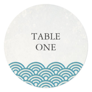 様式化される日本語Seighaは円卓会議数を振ります カード