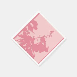 標準的なカクテルのピンクのハチドリ スタンダードカクテルナプキン