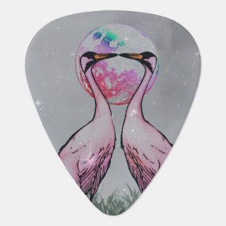 標準的なギターピック-愛鳥 ギターピック