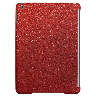 模造ので赤いバーガンディのグリッターの背景の輝き