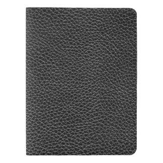 模造ので黒い革 エクストララージMoleskineノートブック