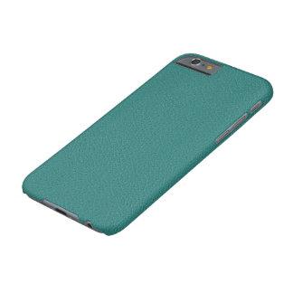 模造のなターコイズの革IPhone6ケース Barely There iPhone 6 ケース