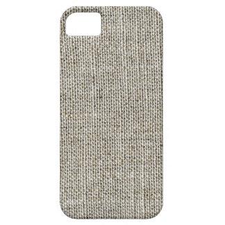 模造のなリネン生地のiPhoneの場合 iPhone SE/5/5s ケース